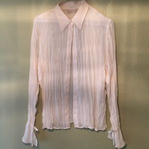 Tops - Peek a Boo Blouse for the Cute Classy Diva!